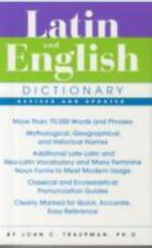 Latin and English Dictionary by John C. Traupman (2007, Paperback, Revised)