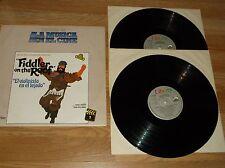 VINTAGE LP-HISTORIA DE LA MUSICA--EN EL CINE--FIDDLER ON THE ROOF-2 DISCOS
