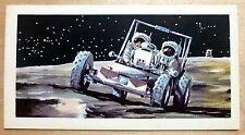 Brooke Bond RACE INTO SPACE card 42. Apollo Lunar Roving Vehicle.