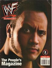 WWE Magazine January 1999 The Rock VG 032916DBE