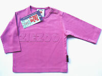 LA Shirt Gr.62 Zie Zoo NEU 100% Baumwolle lila logo baby