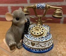 """Charming Tails """"I'm Just A Phone Call Away"""" - 89/161 - 2004 - Orig Box"""