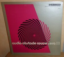 Shure: Audio Obstacle Course - Era III '73 USA Press TTR-110