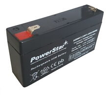 6 VOLT 1.2 Ah BATTERY-Battery With 2 Year Free Replacement Warranty