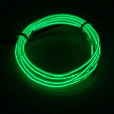 Resplandor de luz LED de neón El Wire tira de Cuerda Cuerda Tubo Decoración Fiesta Controlador Usb
