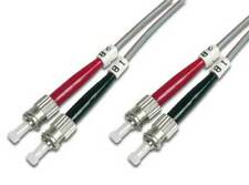 Câbles à fibre optique ST avec un connecteur ST