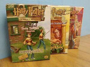 Harry Potter Trading Card Game (3 Sets, READ DESC)