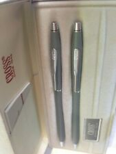 Cross Century Set Grey & Silver Ballpoint Pen & 0.5mm Pencil New In Box Usa Made