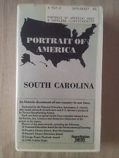 Portrait of America: South Carolina History Documentary VHS RARE VGC! AXL