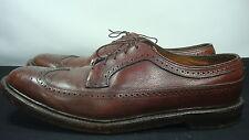 Vintage Florsheim Imperial Wingtip 13 B Brown Leather