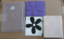 NEW 2007 Stampin Up Big Blossom Flower Floral Daisy Petals Large RUBBER STAMP