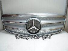 W212 2009-2013 Calandra Griglia 4FIN CHROME/SILVER for Mercedes-Benz V2