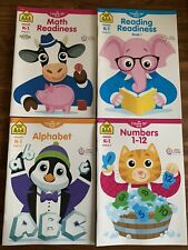K-1 Age 5-7 Math Reading Number Letter Readiness Activity Books Workbook School