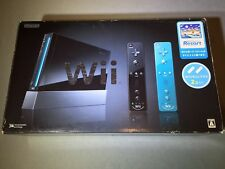 Nintendo Wii Sports Black Console (NTSC-J) Japan Import Bonus Blue Controller
