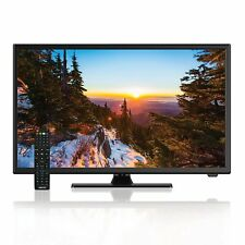"""New Axess 24"""" HDTV LED LCD Television DVD Player with 3D Comb Filter HDMI USB"""
