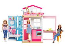 Mattel DVV48 Barbie 2-Etagen Ferienhaus & Puppe