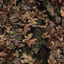 True Timber Harvest Camo Camouflage Woodland Brown Cotton Fabric Fat Quarter