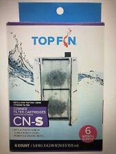 Topfin Cn-S Corner Filter Cartridges. 6 count, 6 month supply