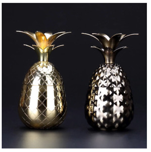 80ml Pineapple Shot Glass with Lid Cocktail Wine Goblet Spirits Cup Bar Decor
