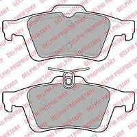 Delphi Rear Brake Pad Set LP1958 - BRAND NEW - GENUINE - 5 YEAR WARRANTY