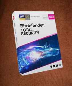 BITDEFENDER TOTAL SECURITY 10PC 2YEARs NEWEST VERSION - GLOBAL KEY VERSION