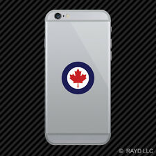 Royal Canadian Air Force Roundel Cell Phone Sticker Mobile Canada RCAF CAN CA