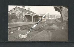 Small Photograph Of A Derelict Lochee Railway Station Dundee Circa 1960s?