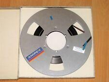 Metal Reel Tape - Ampex Precision Magnetic Tape - 26,5 - Grandmaster 456 + Box