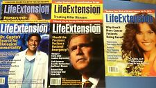 LifeExtension LIFE EXTENSION 5 MAGAZINE LOT 2007 CAROL ALT SANJAY GUPTA GEORGE W
