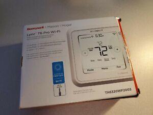 Honeywell TH6320WF2003 Lyric T6 Pro Wi-Fi Programmable Thermostat READ