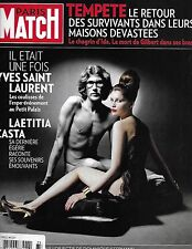Paris Match French magazine Yves Saint Laurent Laetitia Casta Greece Oscars