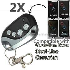 2x BOL4 / 6 BRD1 Garage Door Remote Control 303MHz Boss Guardian BHT4 Steel Line