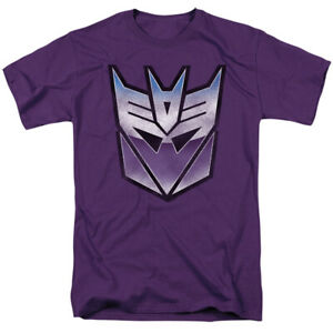 TRANSFORMERS VINTAGE DECEPTICON Licensed Adult Men's Graphic Tee Shirt SM-5XL