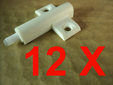 12 x Kitchen Door Buffer Stop Soft close feel
