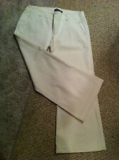 London Jean Denim by Victoria Secret winter white jeans ladies pants size 12