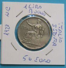 Buono da 1 Lira Regno d'Italia 1928 Italia Seduta - C - BB+ -  nr. 732