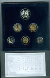 Finnland  Markka-Kursmünzensatz 2001 PP Der letzte vor dem Euro! (16,60 Markka)
