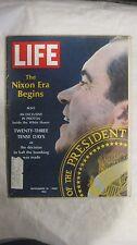 Life Magazine November 15th 1968 The Nixon Era Begins 23 Days Published By Time