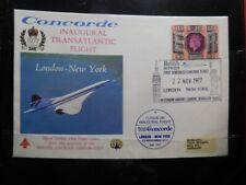 British Airways Concorde - Official Flown Cover London-Washington-Ottawa, 1977