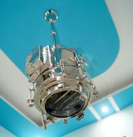 Nautical Pendant Home decor Chrome Hanging Beautiful Hallway Wave Ceiling Light
