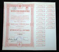 La Russia e l'Ucraina, VETRERIA & Chemicals certificato STOCK – 1920