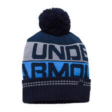Winter Hat Under Armour Retro Pom 2.0 Beanie 410 size OSFA Woolie Cap Hut Mutze