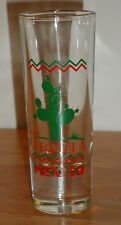 TEQUILA MEXICO double shot glass