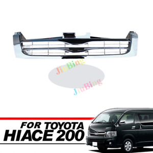 For Toyota Hiace E200 Commuter 2005~2009 Front Grill Grille Chrome Narrow 1695mm