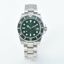 40mm Corgeut Emerald Green Dial SUB Sapphire Crystal Automatic Mens Watch Miyota