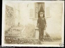 militaire . régiment . uniforme . médailles . décorations .  photo ancienne .