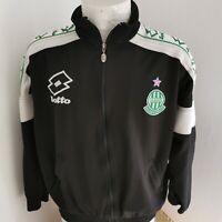 veste de football saint etienne  porté taille L/xl LOTTO vintage