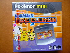 Pokemon mini Spiel - Pokemon Puzzle Collection - Französische Version