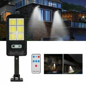Faro lampione stradale pannello solare fotovoltaico sensore 120 LED COB 5195