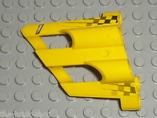 LEGO technic Yellow Panel Fairing 2 ref 32191 + Stickers / set 8445 8457 8538